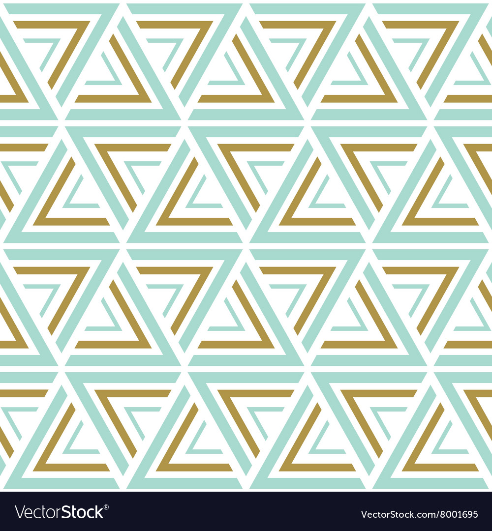 Seamless patterns Blue and gold seamless