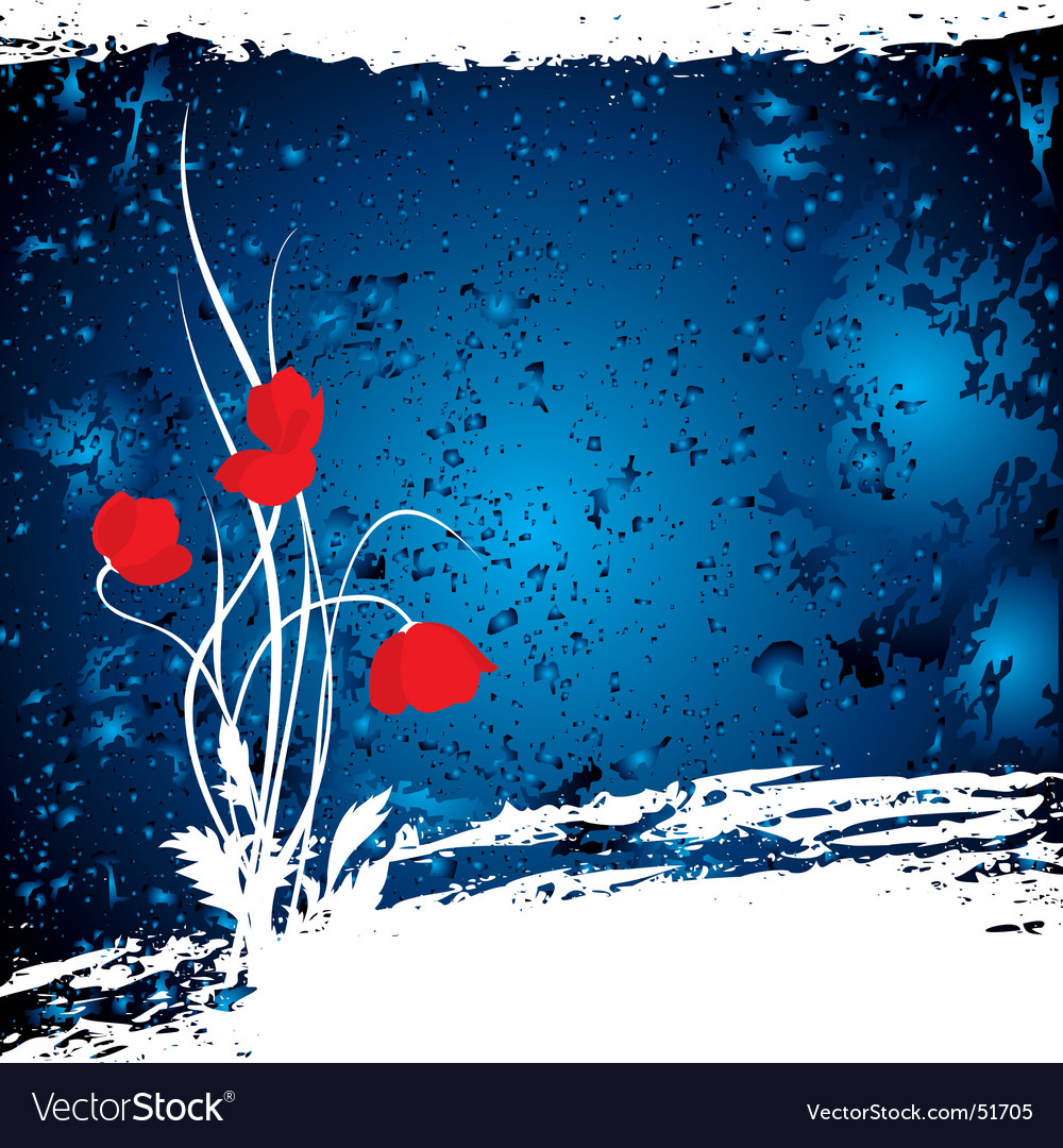 Blue mazy vector image