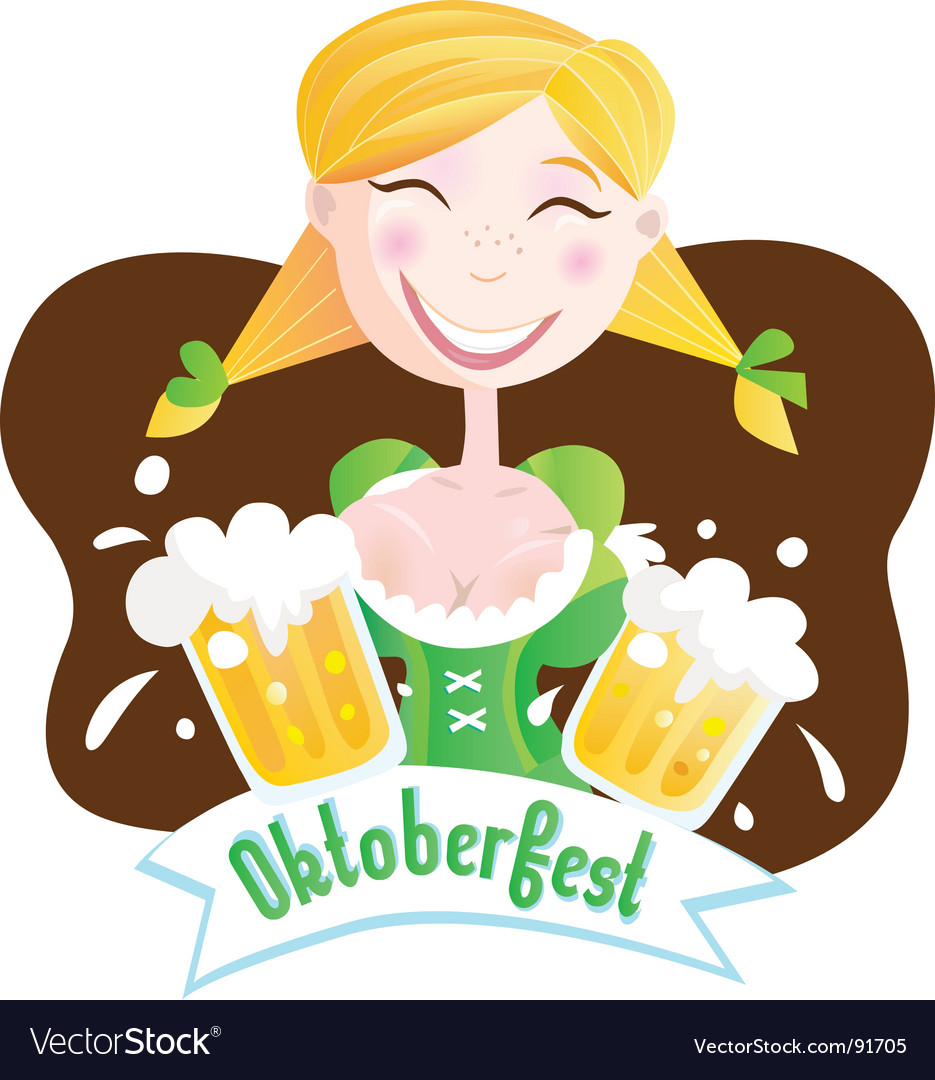 Octoberfest Bavarian girl