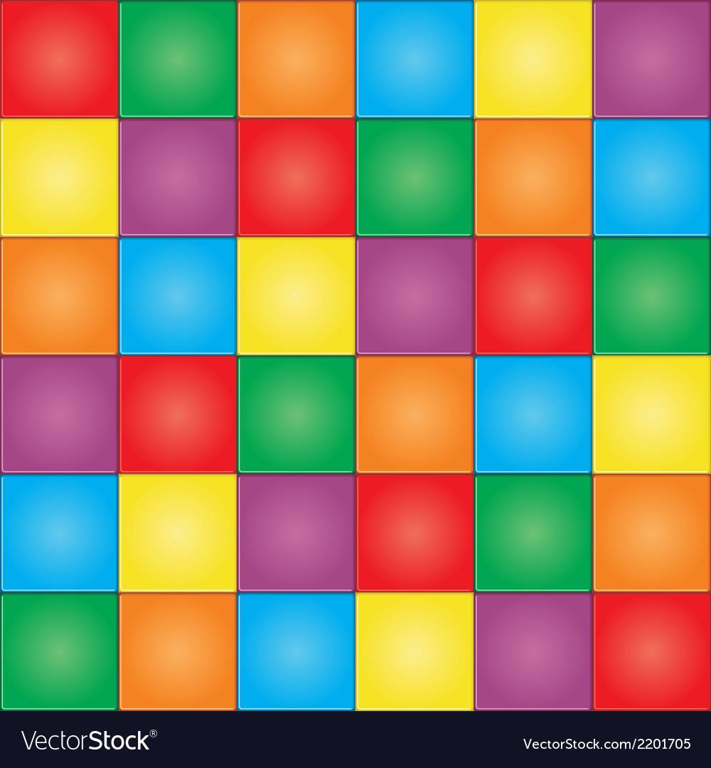 Mosaic Tiles Pattern Royalty Free Vector