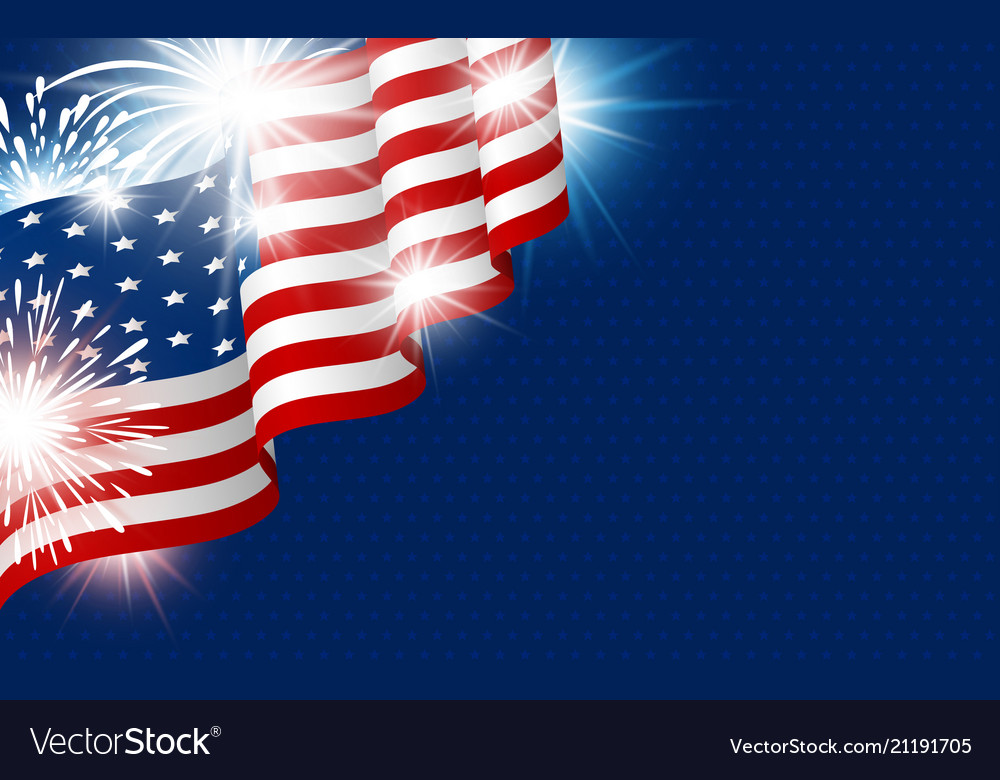 Usa 4th of july independence day design