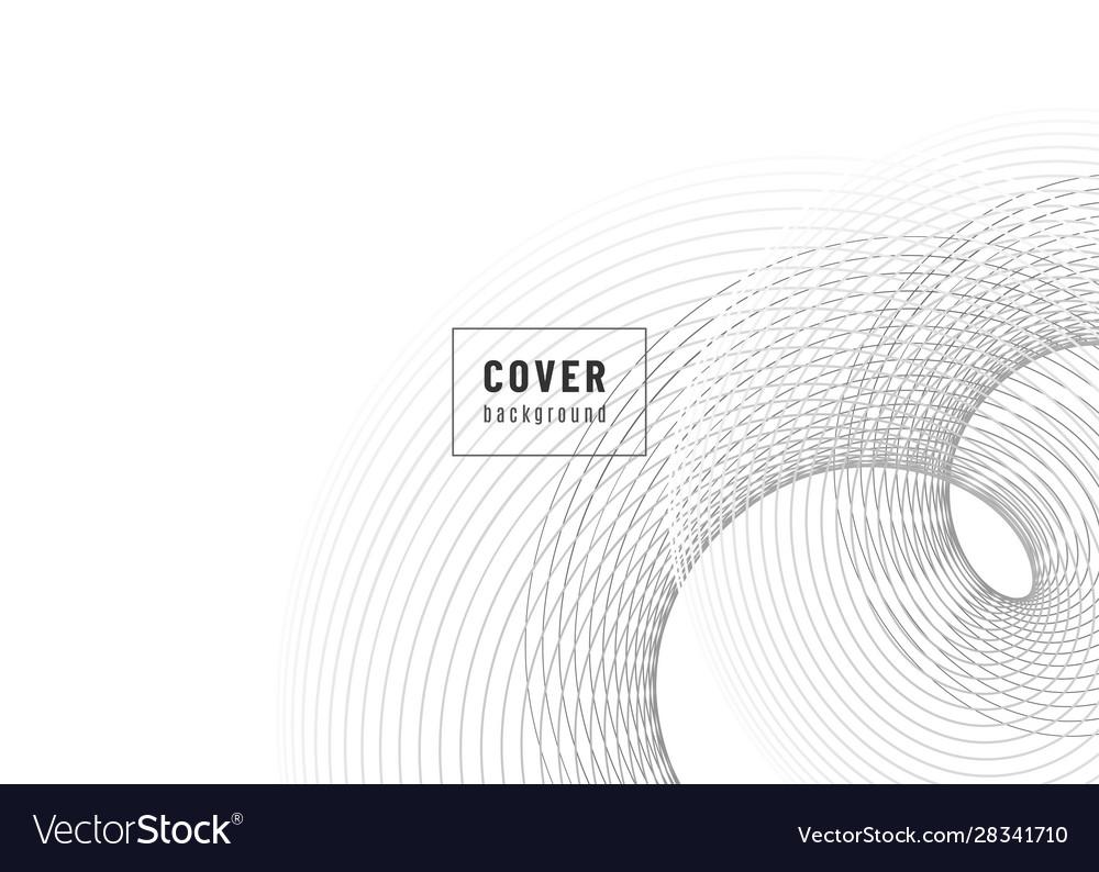 Abstract background design fluid flow grey