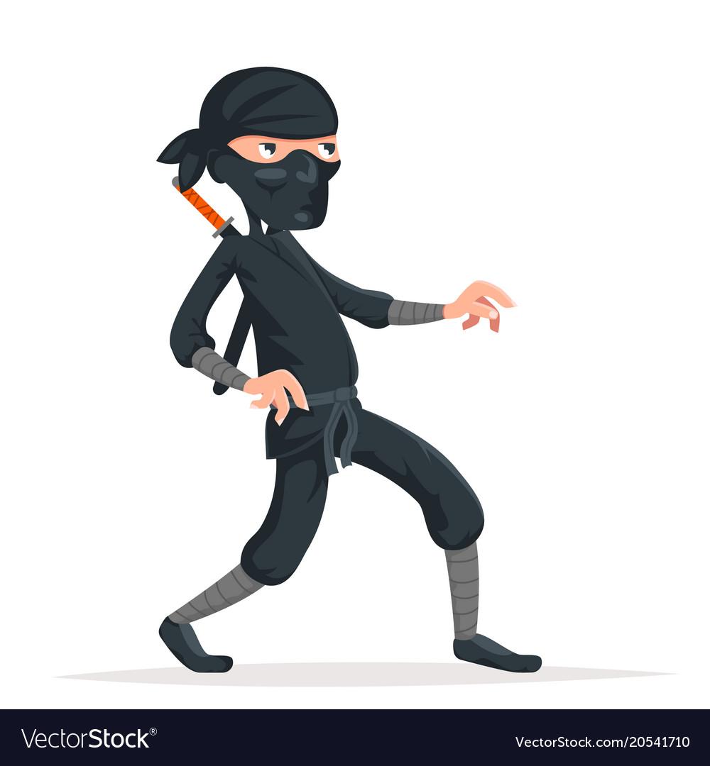 Ninja thief sneak walk sword asian assassin
