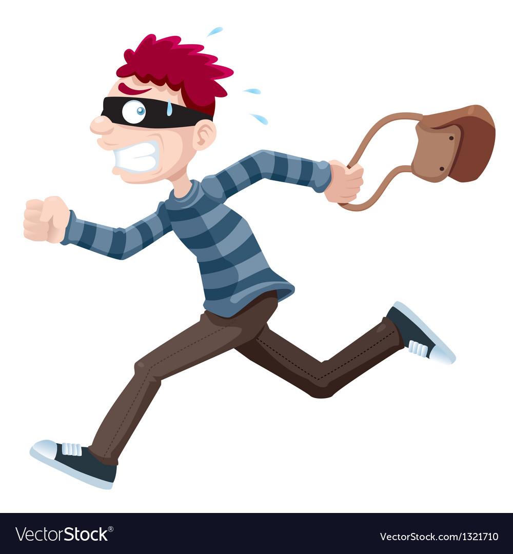 Thief running