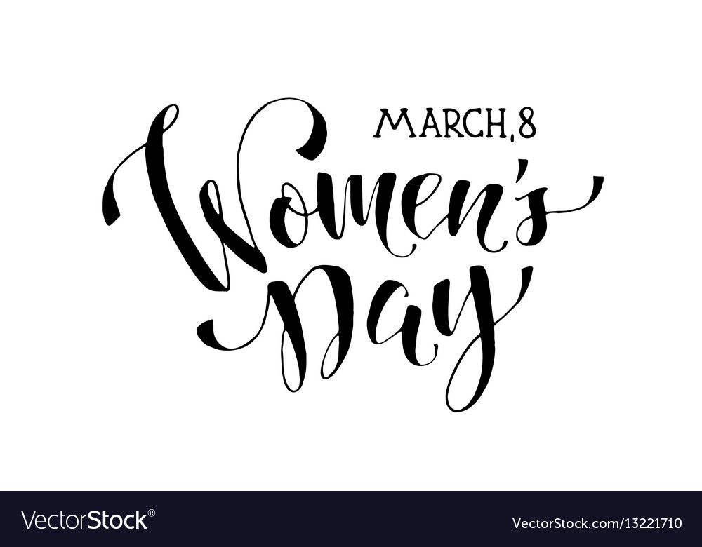 Women day phrase