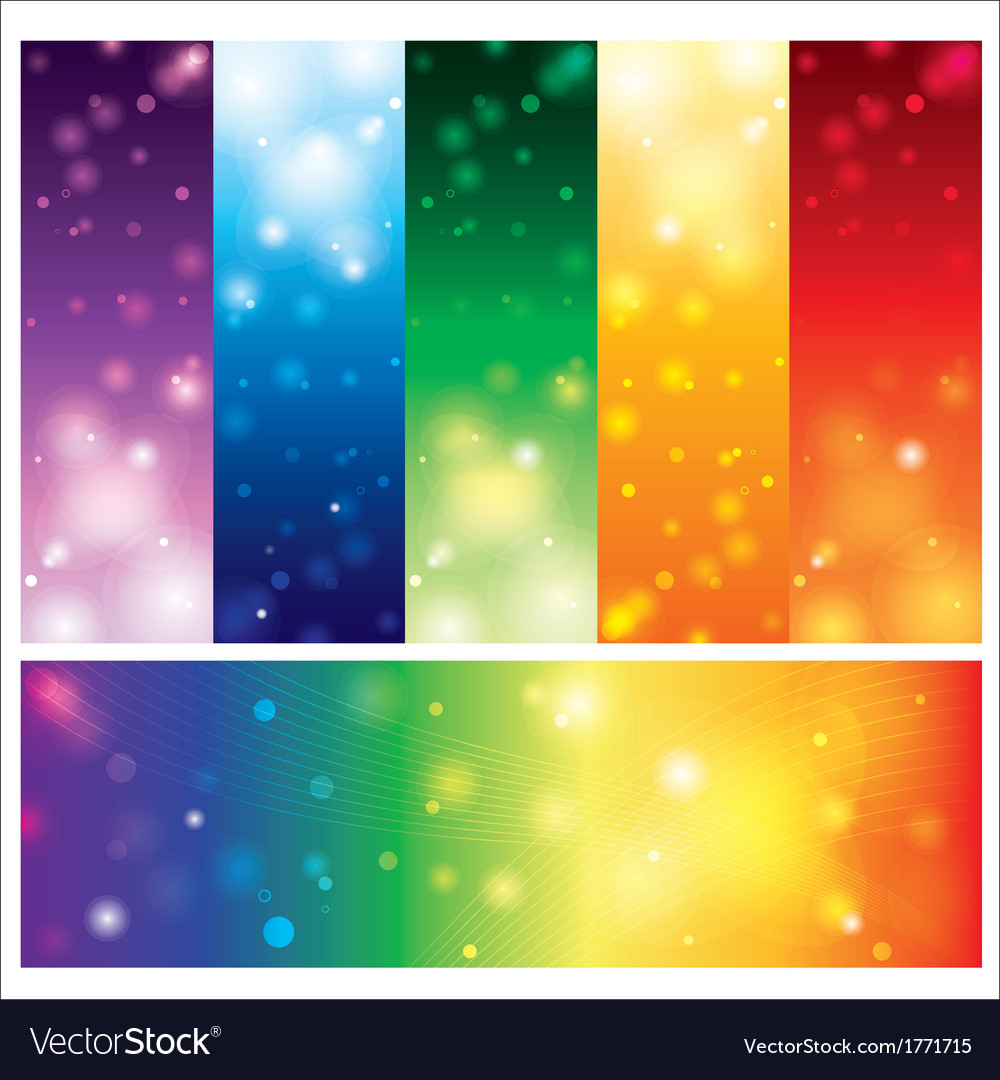 Template card colorful element design