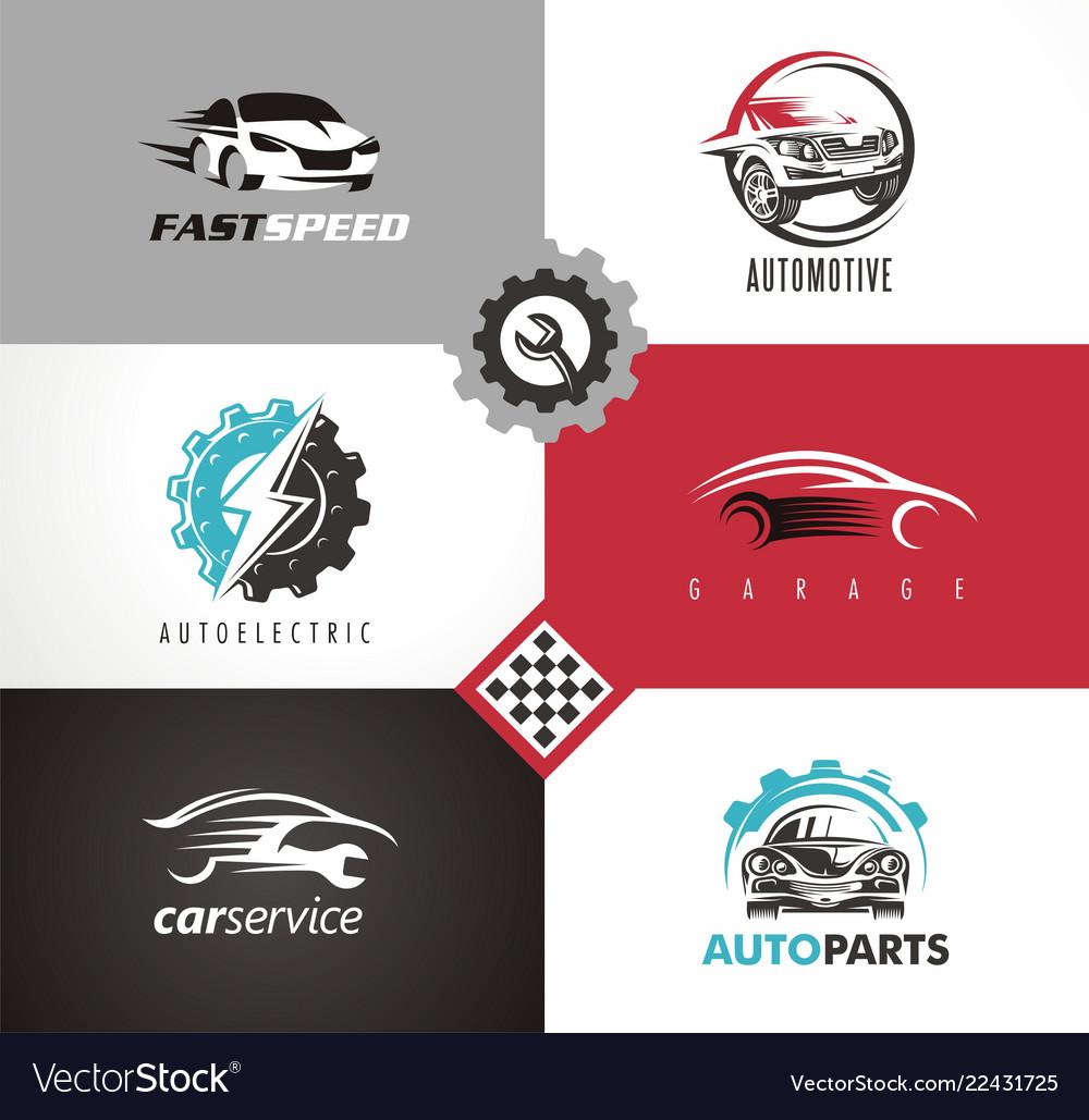 Car design automobile logo