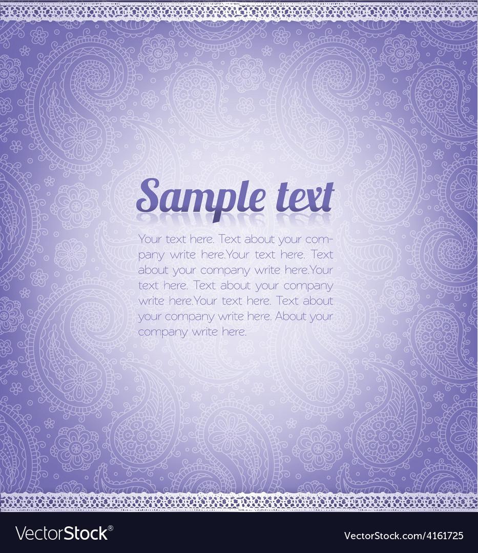 Pattern violet