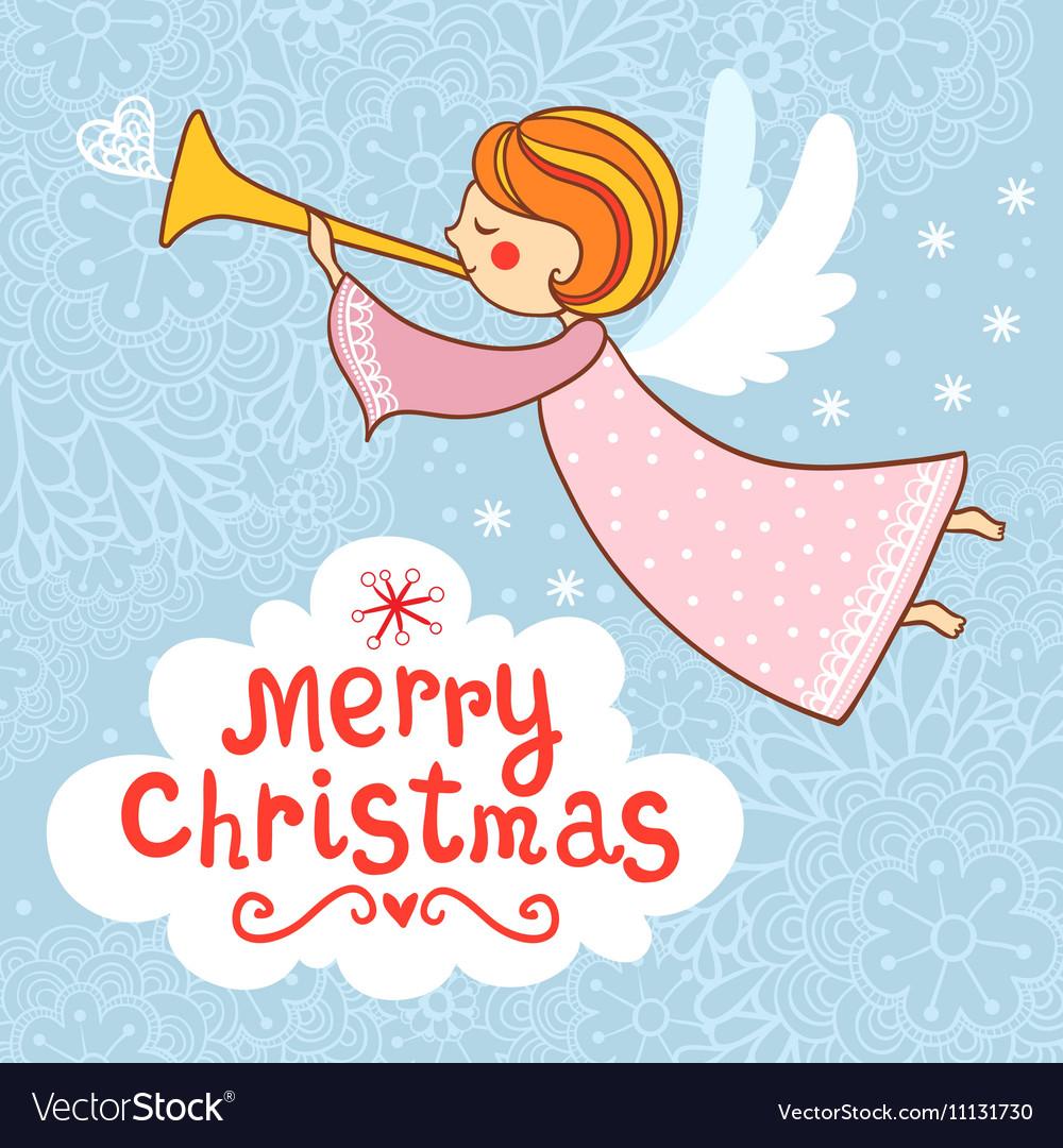Greeting card Christmas card