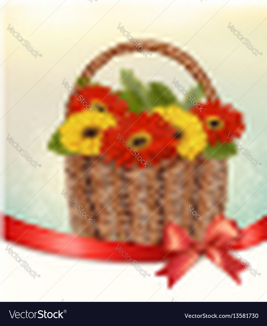Holiday easter background with colorful flowers
