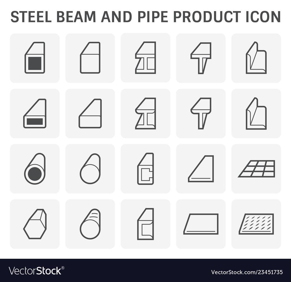 Beam pipe icon