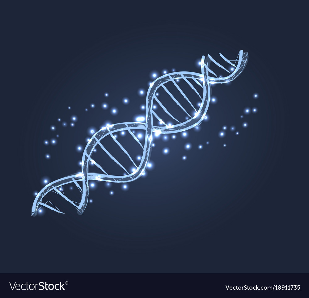 Dna code structure icon