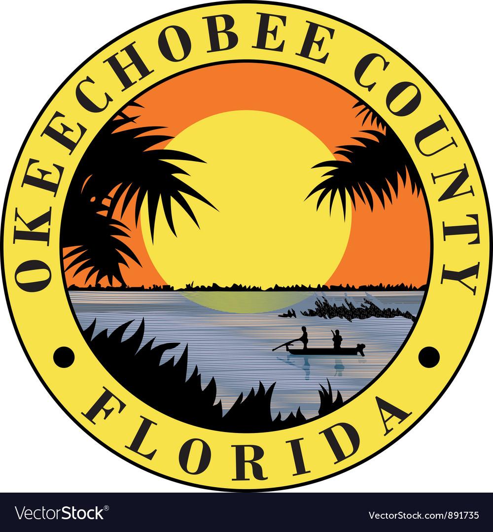Okeechobee county seal