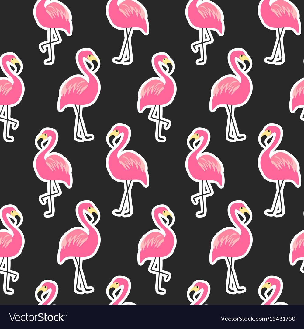 начала картинки фламинго для распечатки черно белые фон хочет