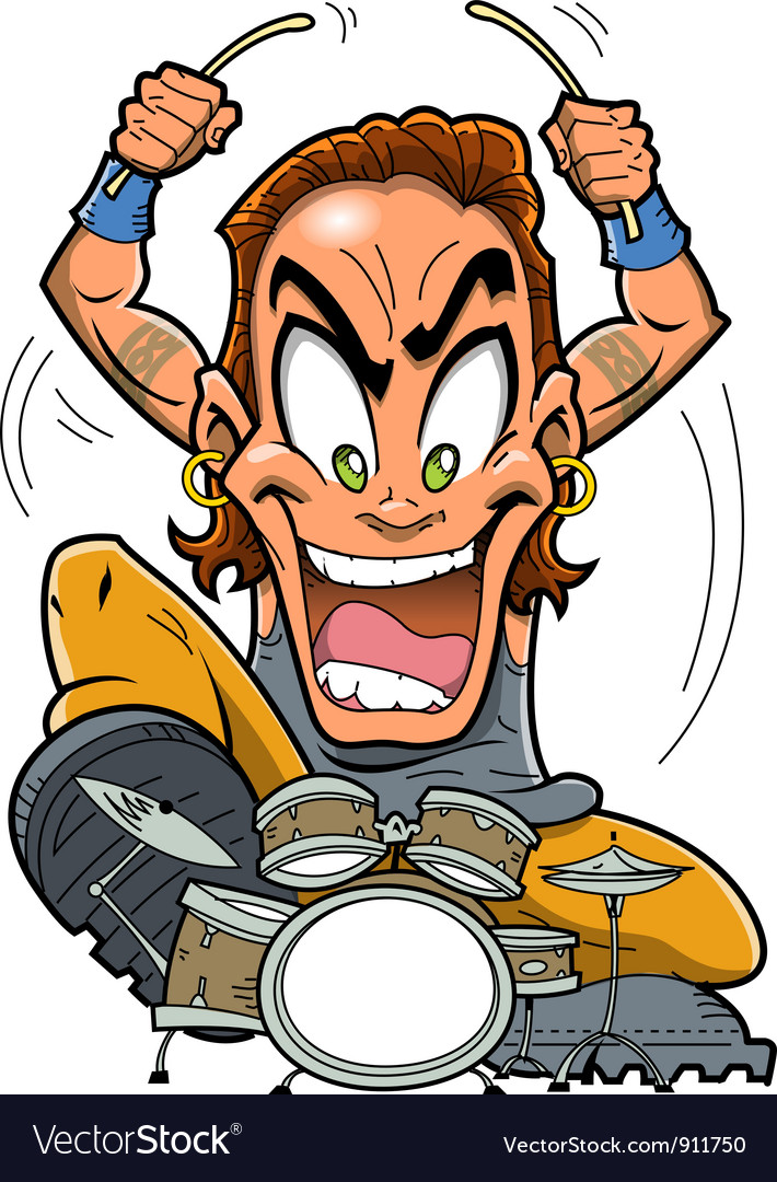 Heavy Metal Drummer