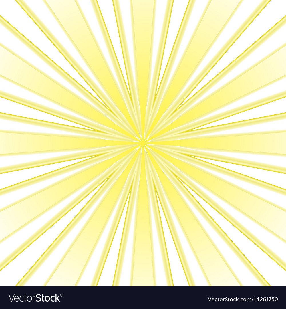 Yellow rays abstract background