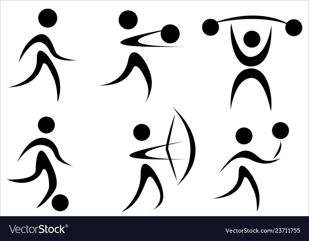 Active sports icon
