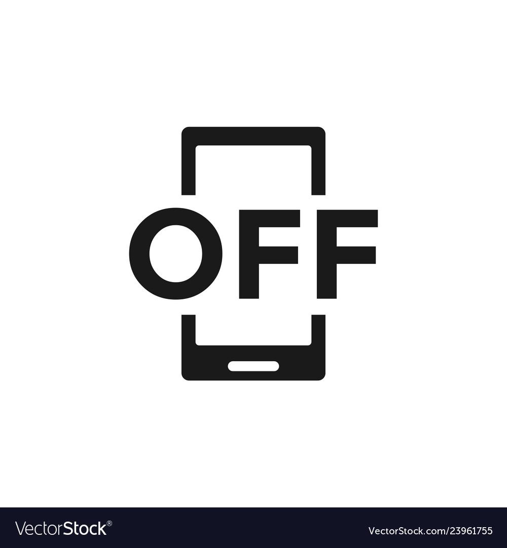 Forbidden phone icon design template