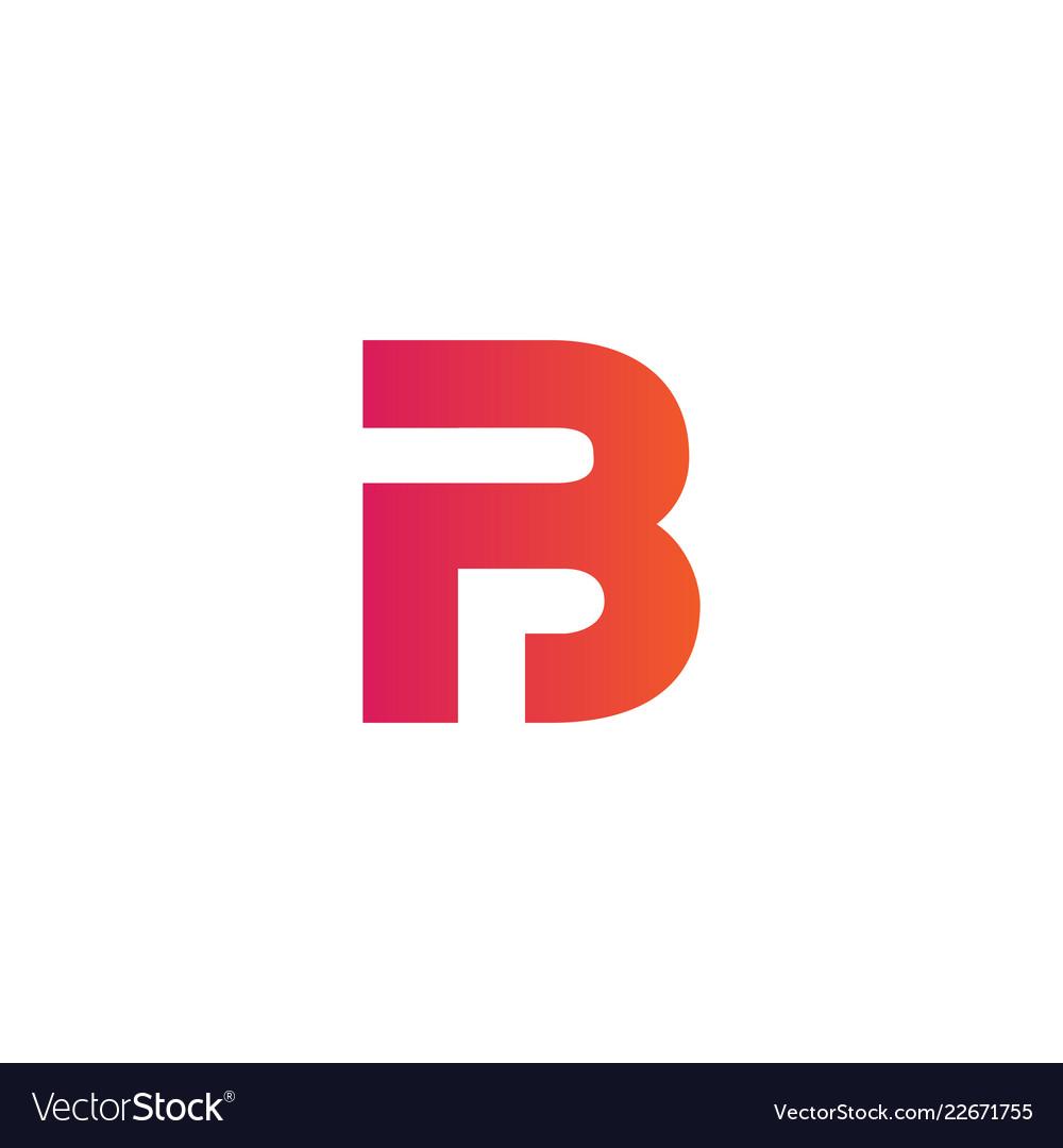 Luxury logotype premium letter b logo with modern