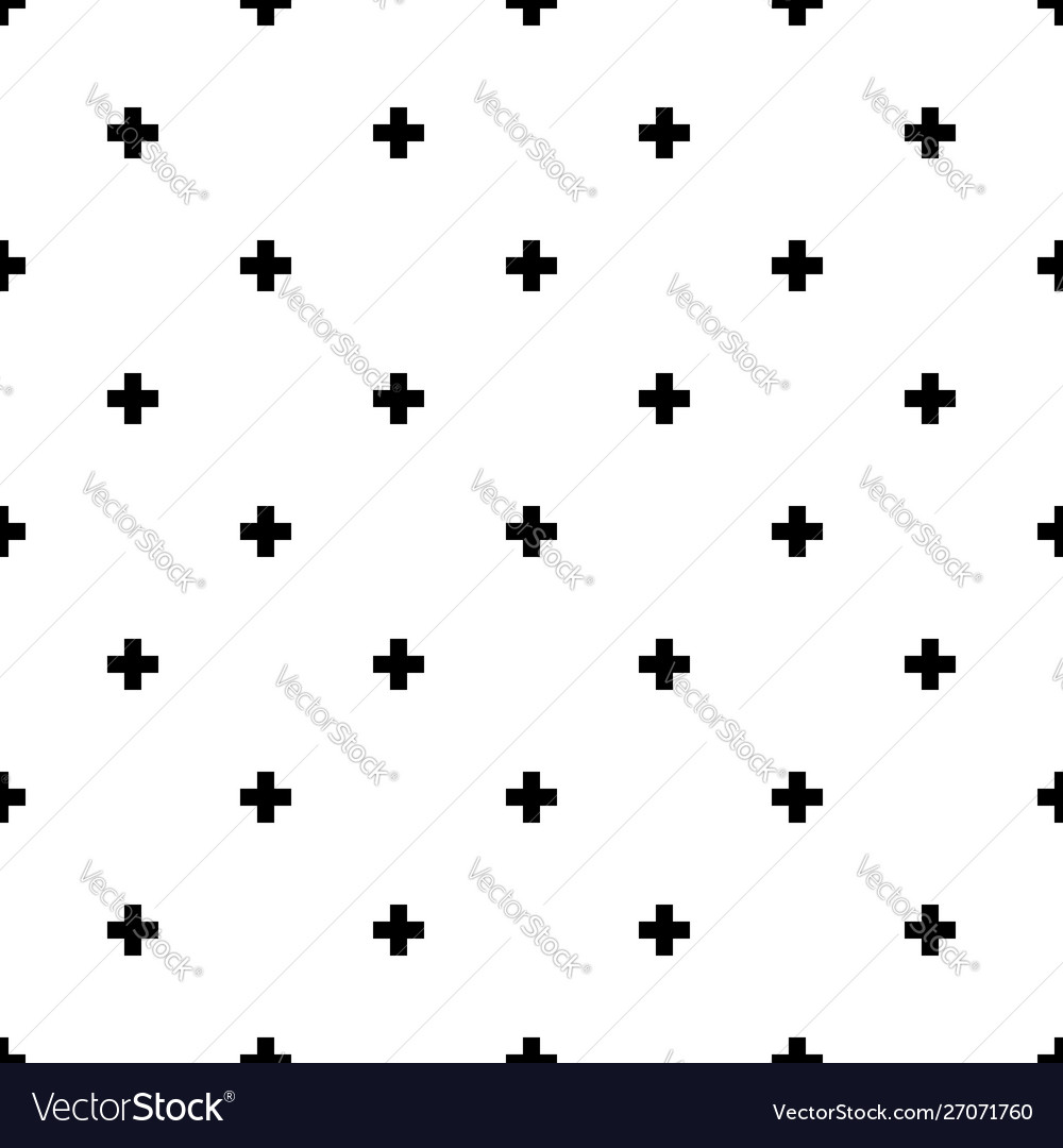 Plus seamless pattern background