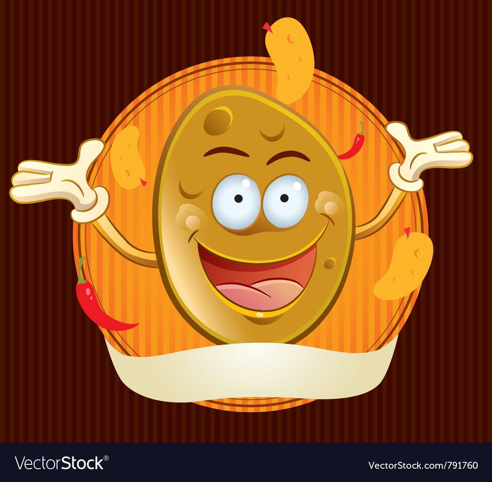 Potato chips mascot