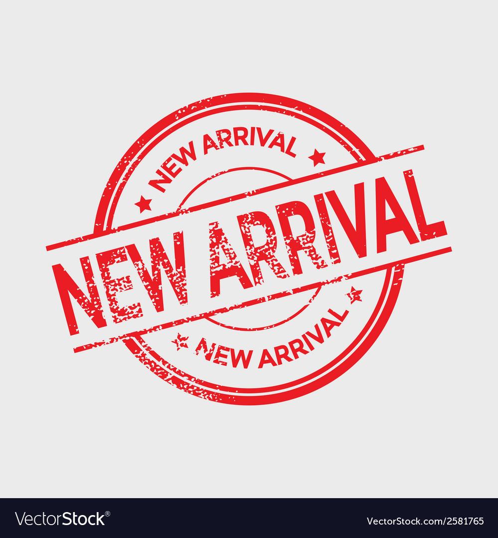 new arrival royalty free vector image vectorstock