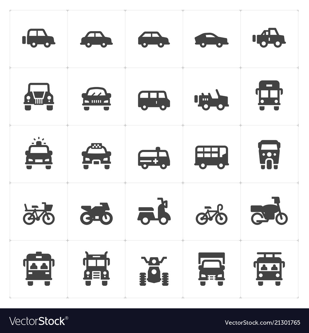 Vehicle and transport filled icon