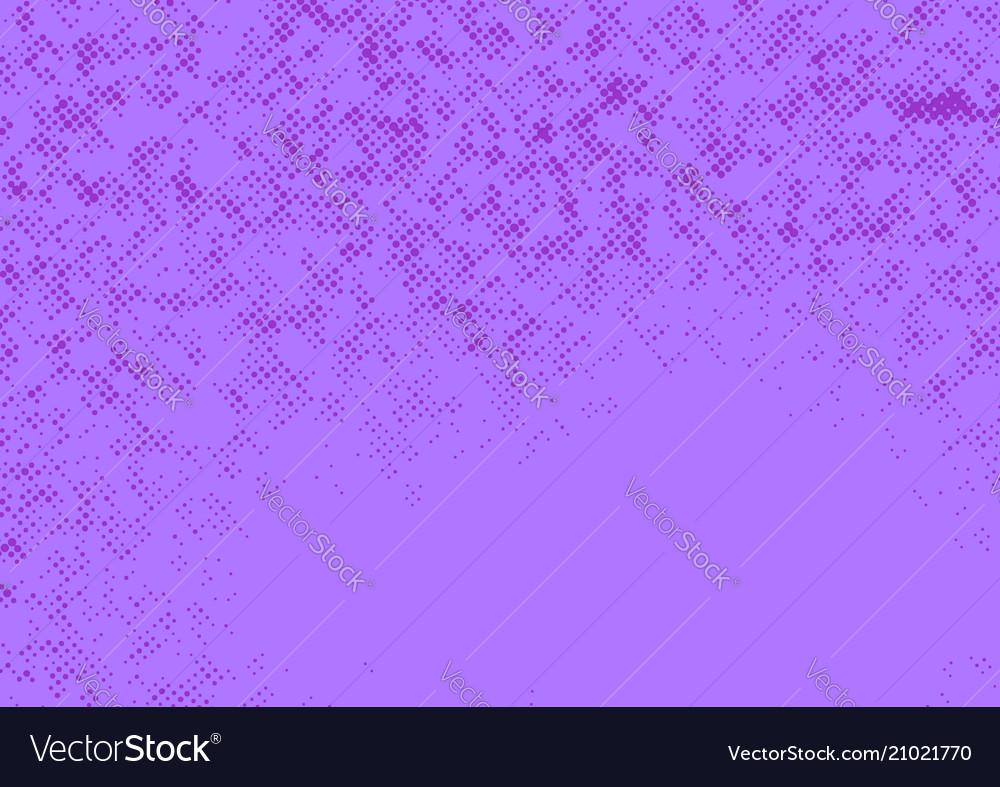 Bright vivid purple graphic comic style pop art