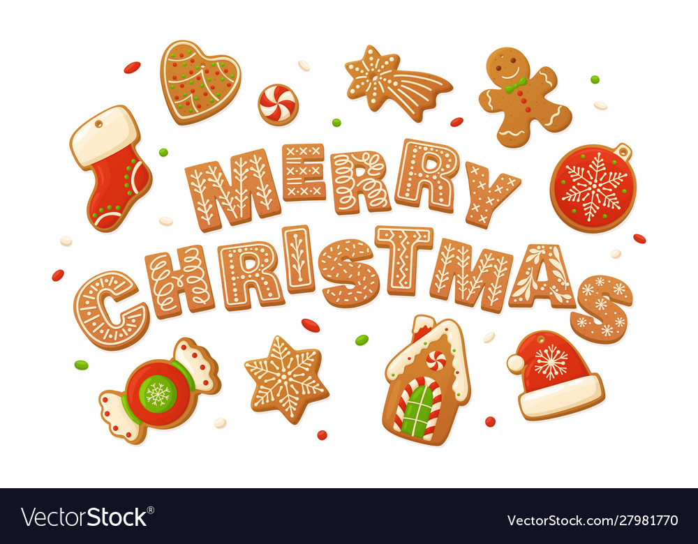 Merry christmas backgrounds cartoon