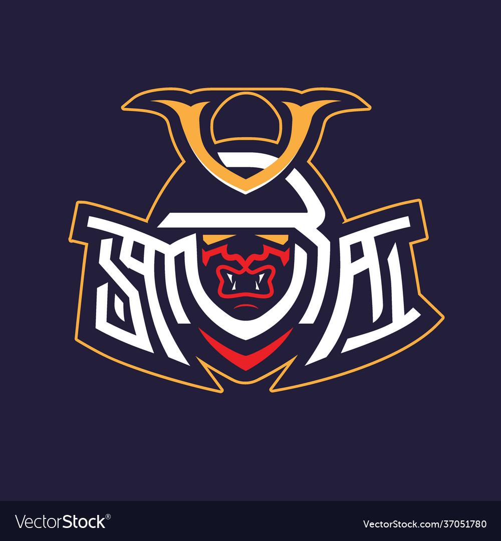 Samurai wordmark symbol