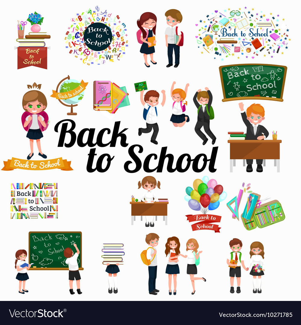 Back to school background education