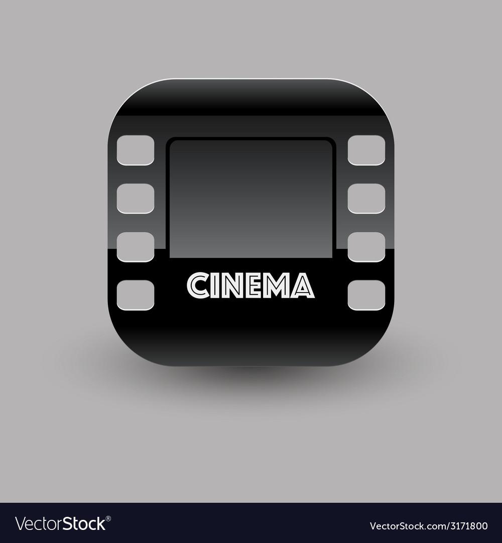 Cinema icon eps10