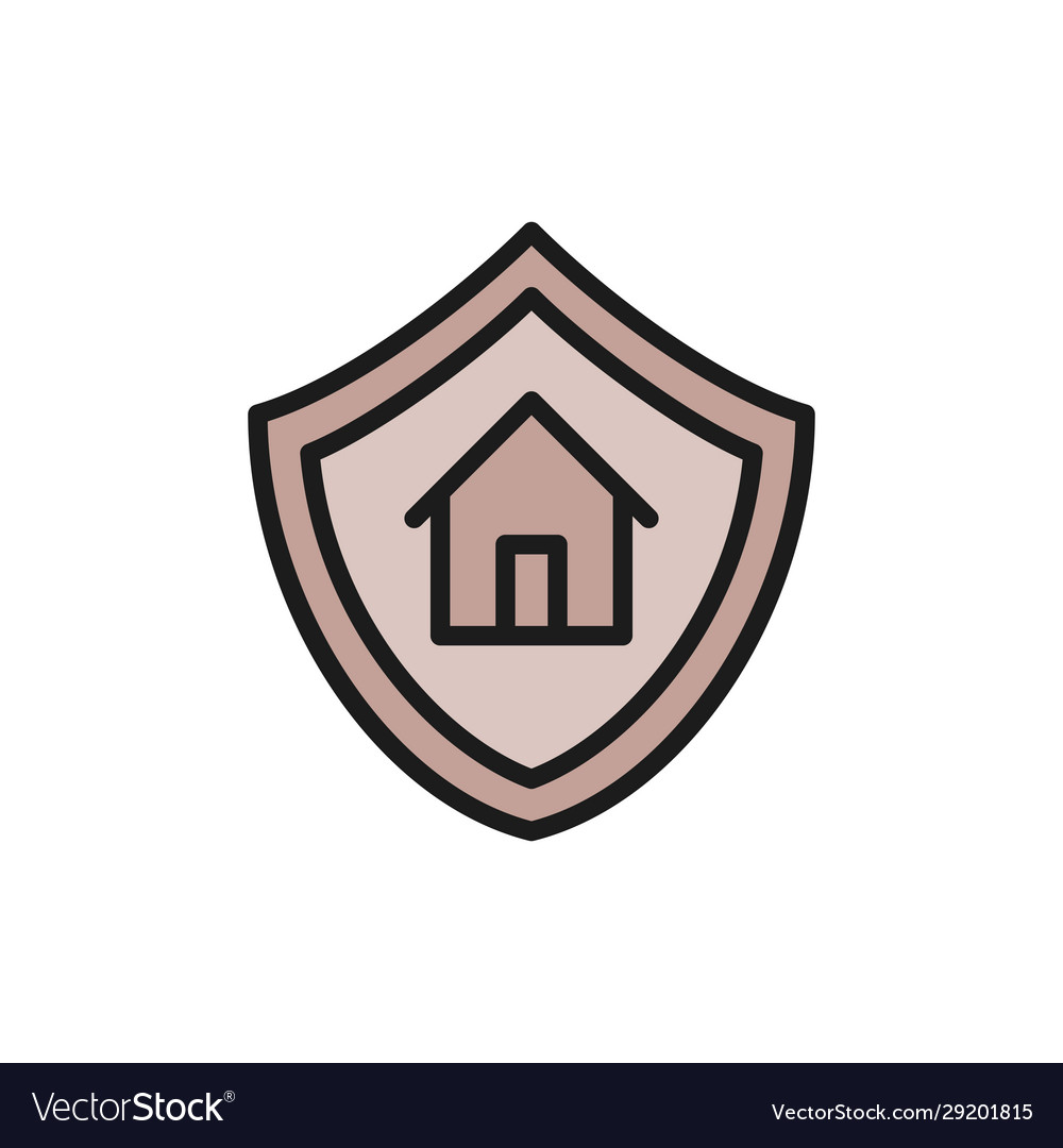 Home protection shield with house property
