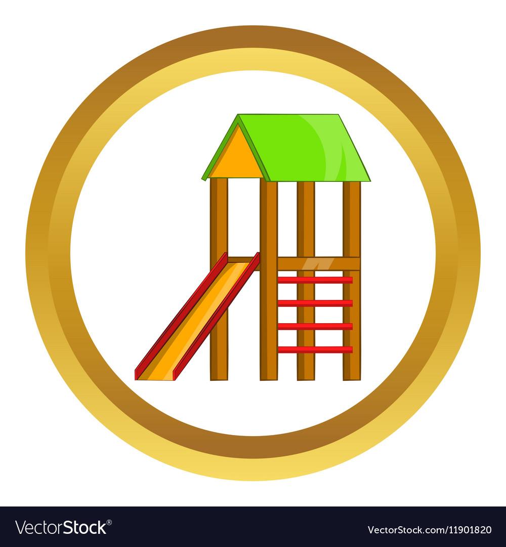 Slide house icon