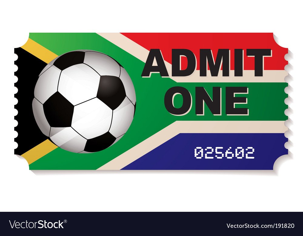 South Africa Football Ticket