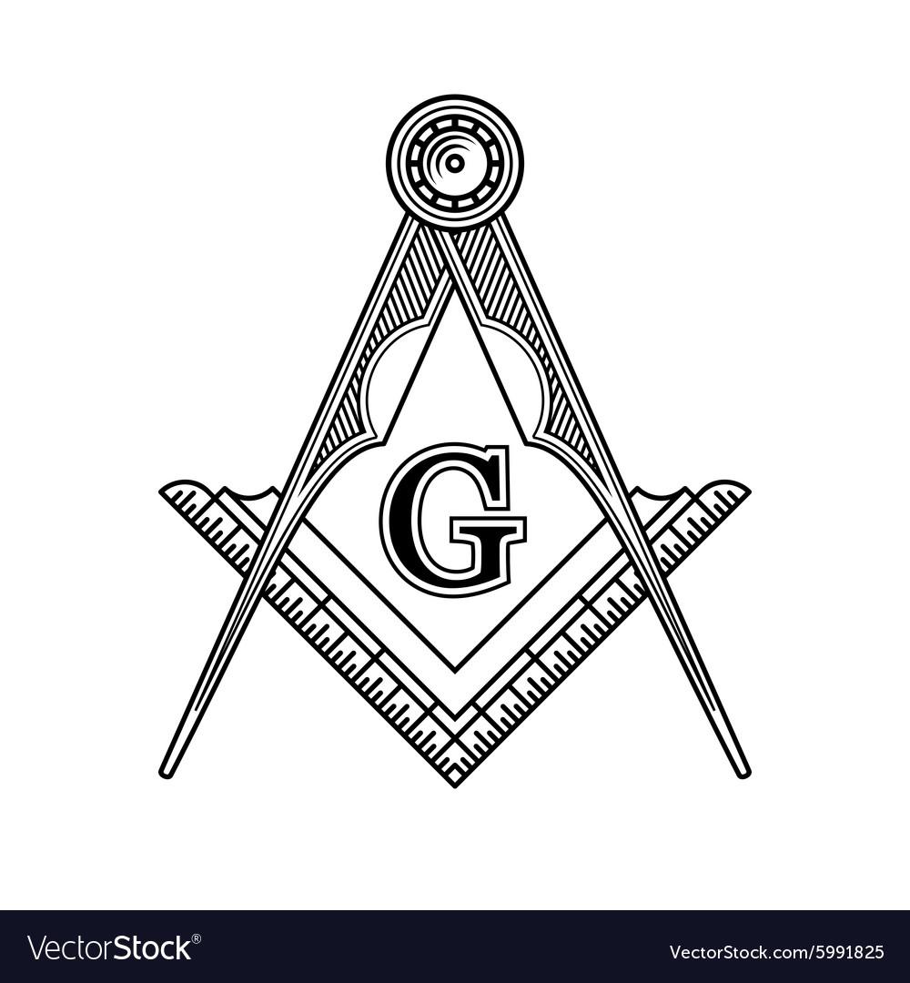 Masonic Freemasonry Emblem Icon Logo