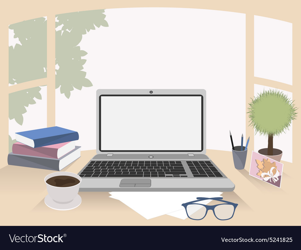 Office interior workplace organization