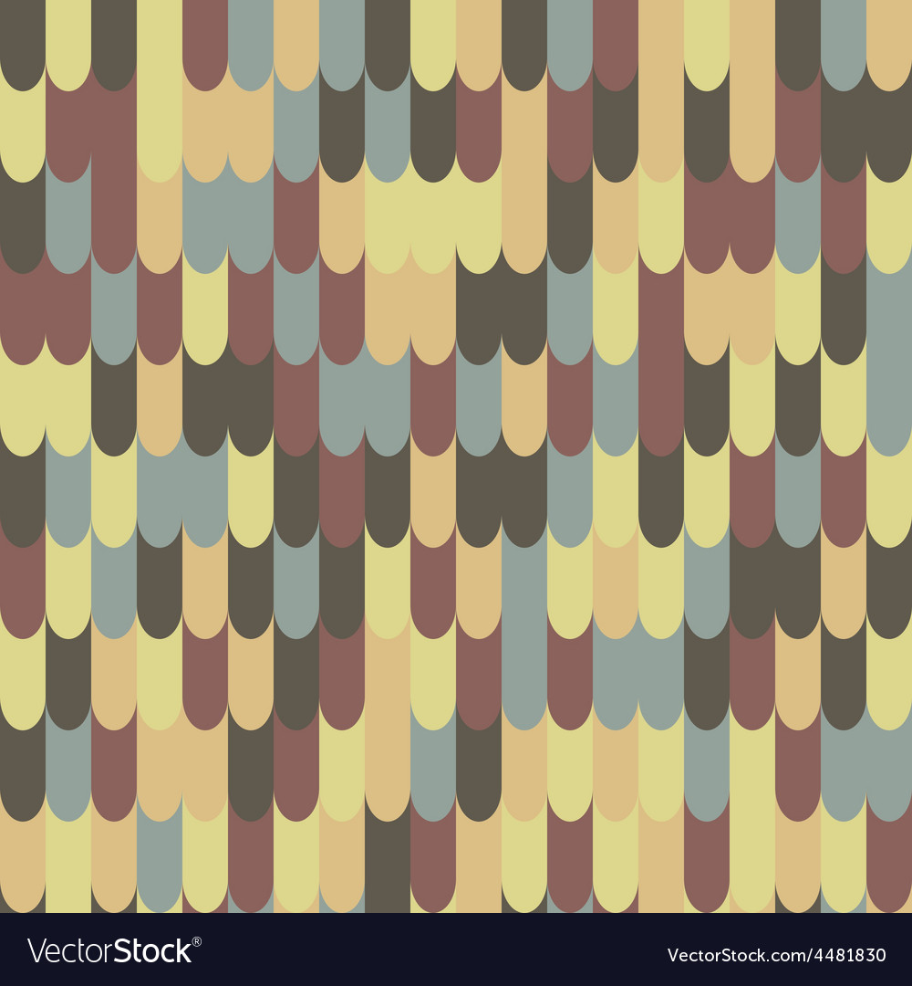 Abstract seamless rotile pattern
