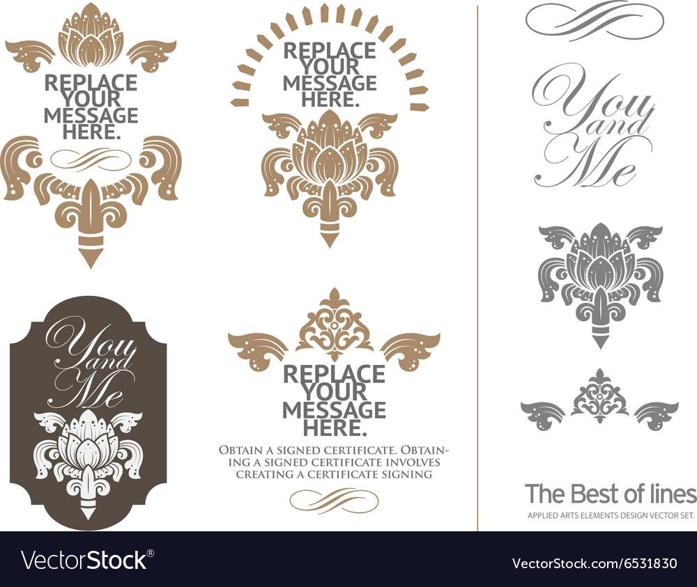 Luxury vector image