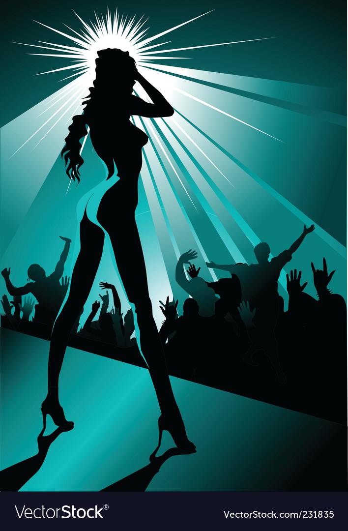 Night striptease