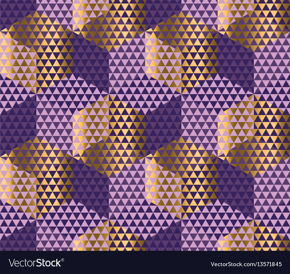 Geometry motif in luxury style seamless pattern