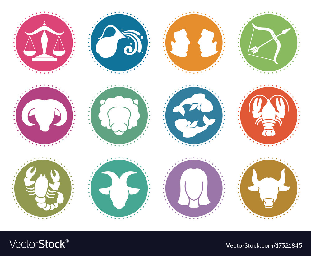 Horoscope zodiac signs astrology symbols