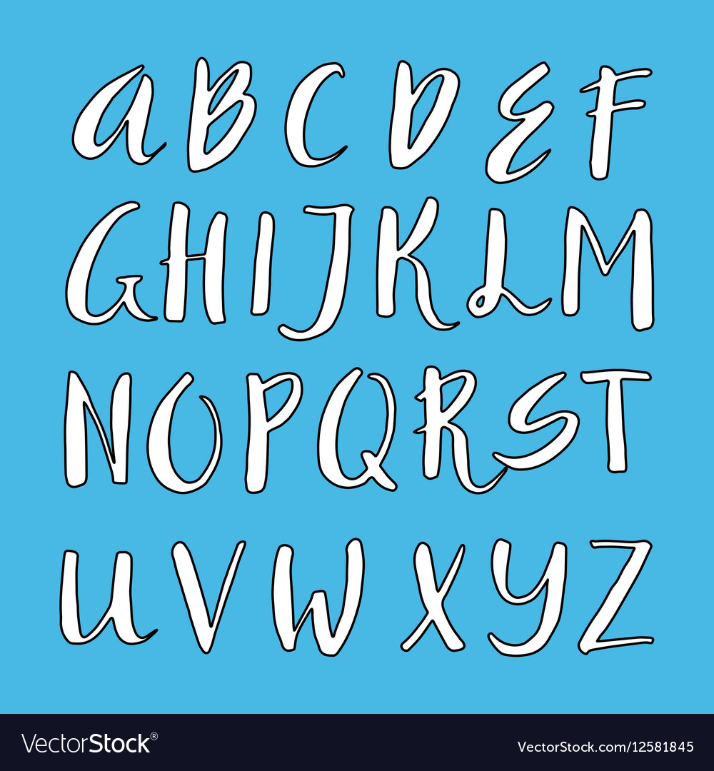 Unique alphabet