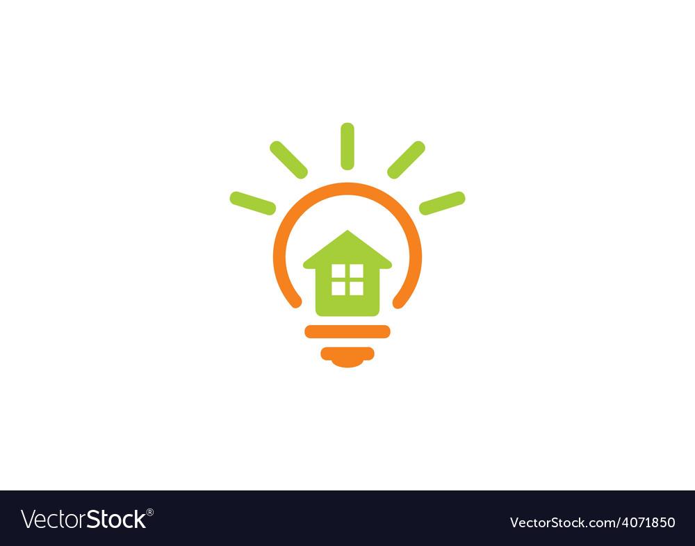 Inovation Home Idea Abstract Logo