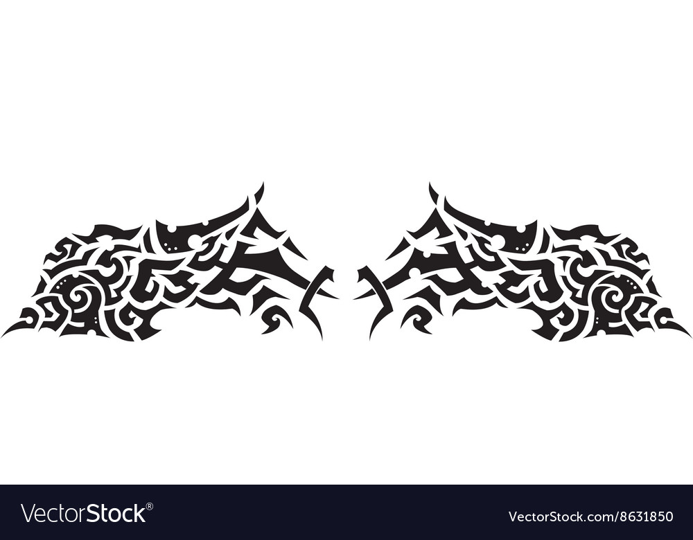 Tattoo four vector image