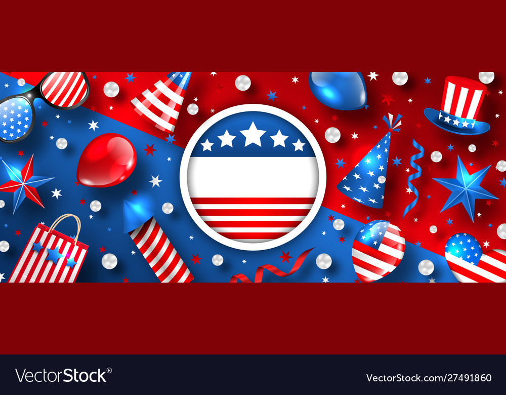 Usa background for american holidays