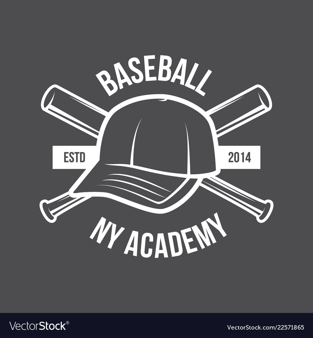 Baseball logo and insignia