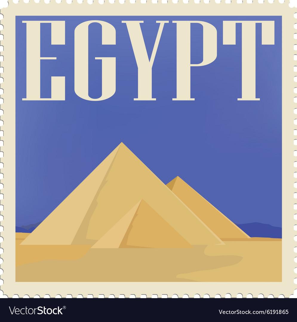 Egypt post stamp
