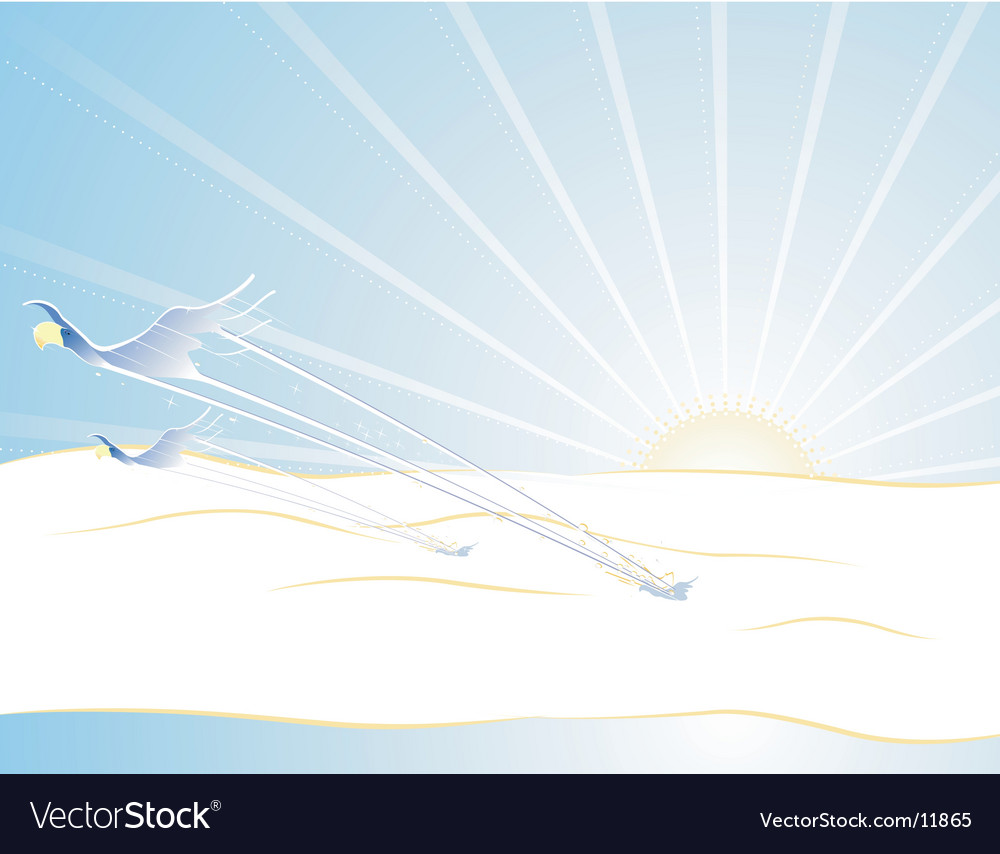 Speed of sound vector image
