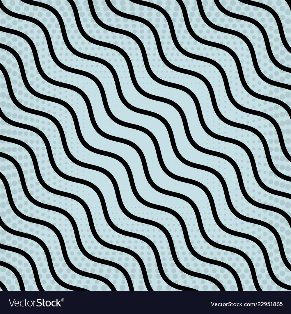 Stripes black colour on a blue background